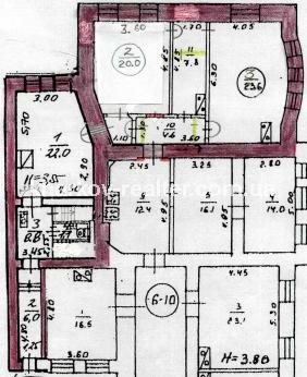 3 комнатная из. квартира Центр - фото 8