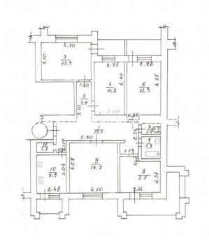 3-комнатная квартира, Конный рынок - фото 6