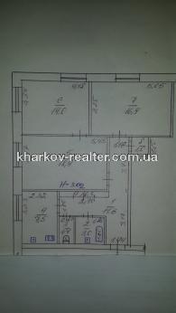 3-комнатная квартира, Центр - фото 16