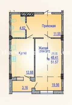 1-комнатная квартира, Нов.Дома - фото 4