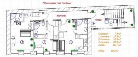 3-комнатная квартира, ЮВ и ЦР - фото 12