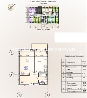1-комнатная квартира, Сев.Салтовка - фото 5