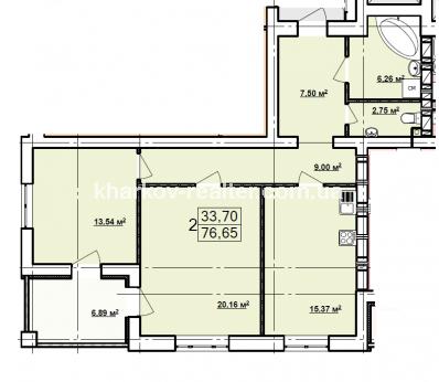 2-комнатная квартира, П.Поле - Image14