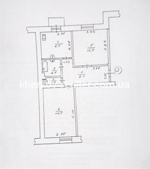 2-комнатная квартира, Гагарина (нач.) - Image10