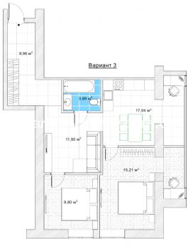 2-комнатная квартира, Центр - Image7