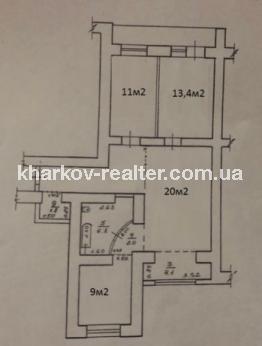 3-комнатная квартира, Гагарина (нач.) - Image16