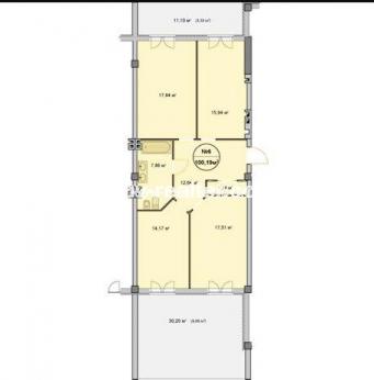 3-комнатная квартира, П.Поле - Image4
