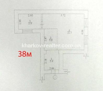 1-комнатная квартира, ЮВ и ЦР - Image11