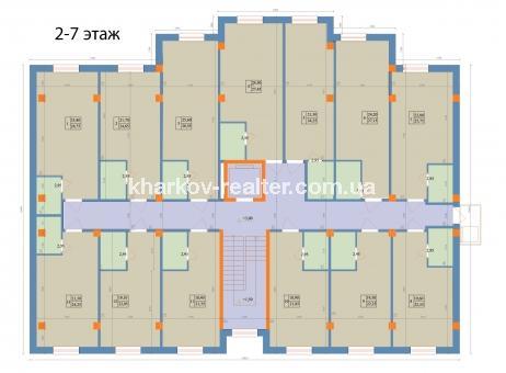1-комнатная квартира, ЮВ и ЦР - Image7