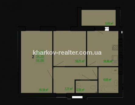 2-комнатная квартира, Хол.Гора - Image2