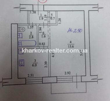 1-комнатная квартира, Одесская - Image8