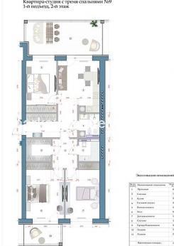 3-комнатная квартира, Салтовка - Image30