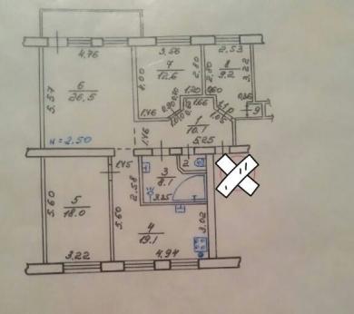 4-комнатная квартира, П.Поле - Image6