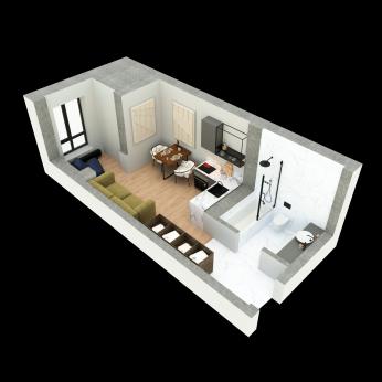 1-комнатная квартира, Центр - Image4