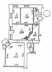 3 комнатная из. квартира Конный рынок - Image1