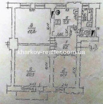 3-комнатная квартира, Восточный - Image15