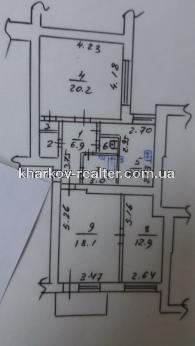 3-комнатная квартира, Центр - Image9